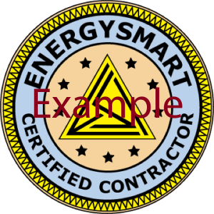Certified EnergySmart Contractor Badge